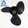 14X10 Pitch Black Props 70-140HP 48-854342A45 Aluminum Outboard Propeller