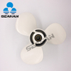 New 11-3/8X12 Pitch 25-60HP Aluminum Outboard Propeller For Yamaha Egine N663-45952-02-EL from china