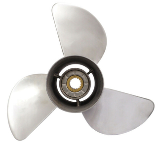 13 X 17 New 40-140HP Stainless Steel OEM Boat Outboard Propeller for Mercury Motor Engine