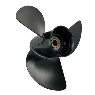 13.3 X 17 Pitch Aluminum Outboard Boat Propeller Prop for Mercury Nissan/Tohatsu 60-140 Hp Outboards